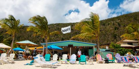 Soggy Dollar Bar in the BVI