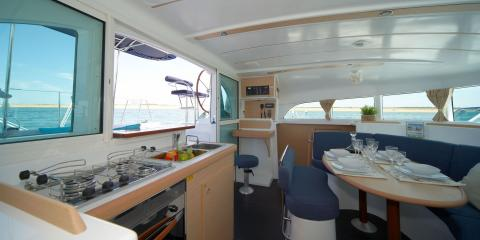 Moorings 380 galley