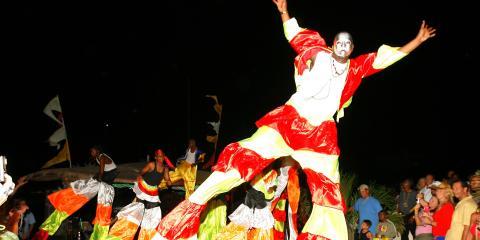 traditional celebration at the Regatta