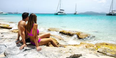 The Baths in BVI