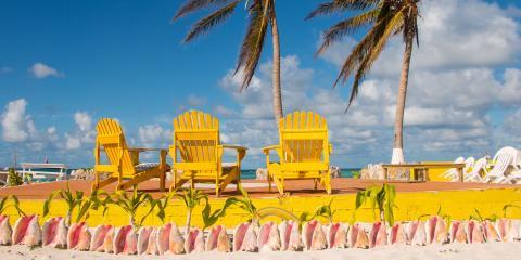 Cow Wreck beach chairs BVI