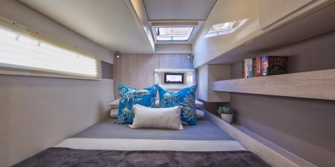 Moorings 4000 cabin interior