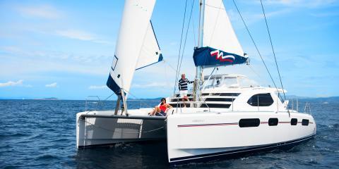 Moorings yacht sailing in Croatia