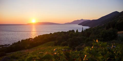 Sunset in Croatia