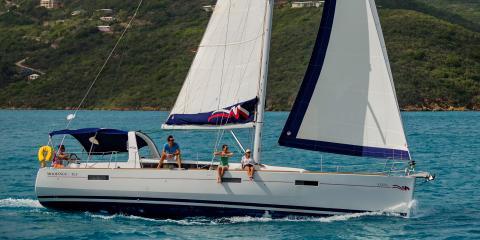 Moorings 45.3 starboard