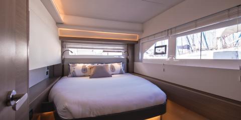 The Moorings 53 Powercatamaran Cabin Bedroom