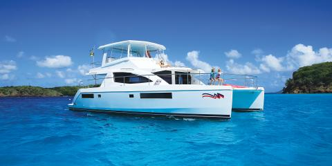 Moorings underway in St Lucia