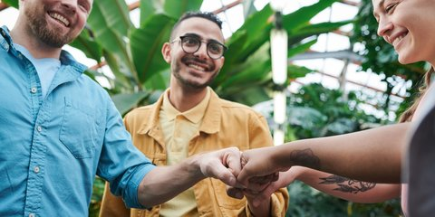 Zlatni Island with Anchored Yachts and Sunbathers on the Beach