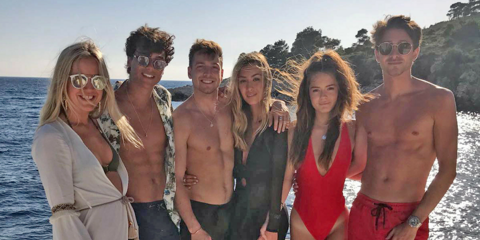 Made in Chelsea on a Luxury Yacht in Croatia