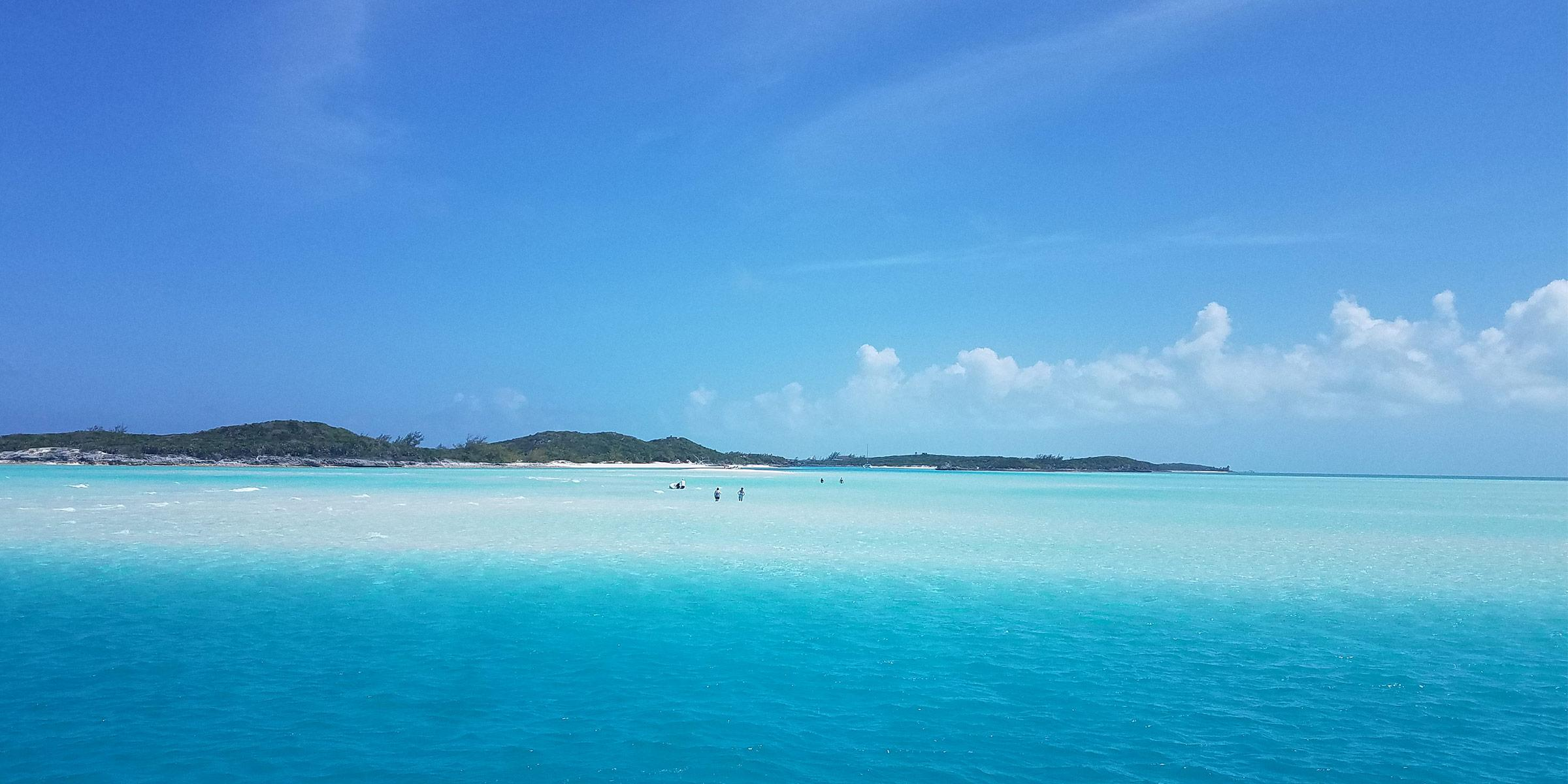 Little Norman's Cay in the Exumas