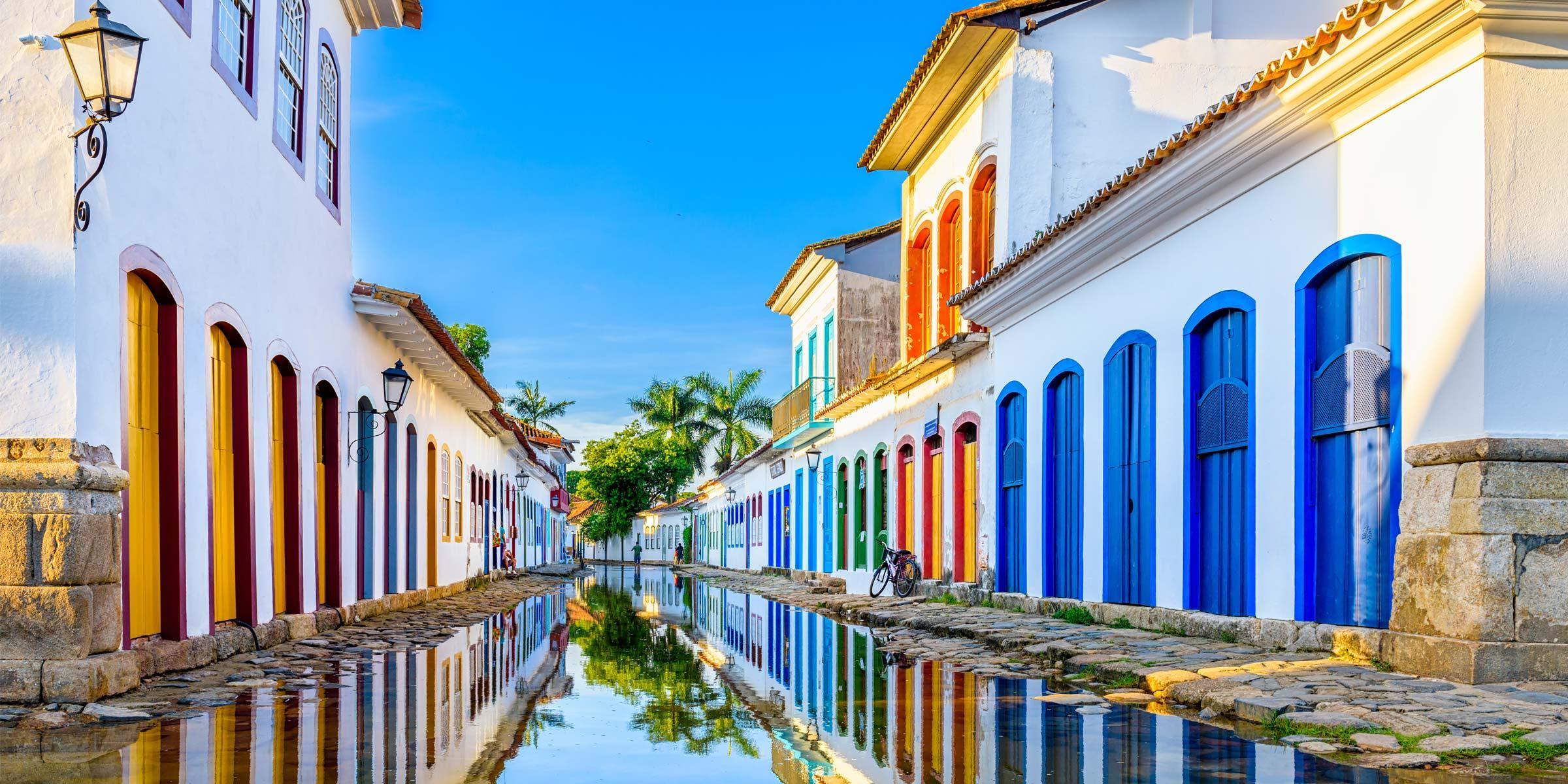 Paraty City Street